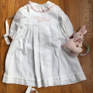 Girls 0-3 mos Little Lamb Baptism Gown